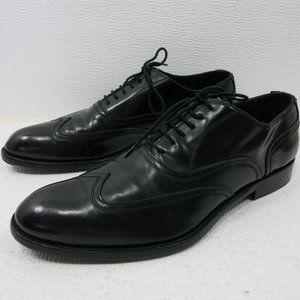 Antonio Maurizi Wingtip Leather Dress Oxfords 42